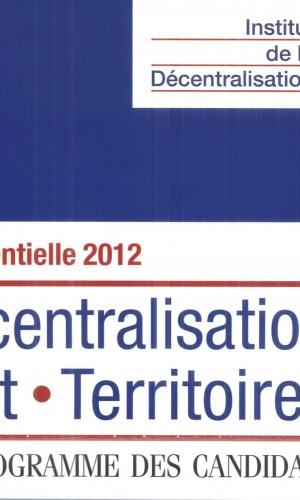 couv journal pré 2012