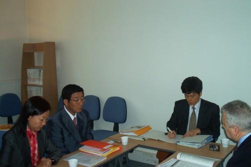 Délégation japonaise