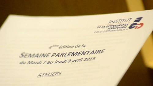 4ème Semaine Parlementaire